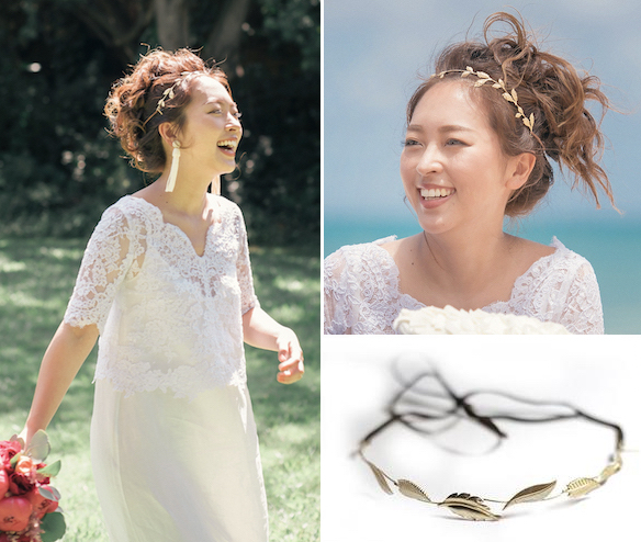 Classic Wreath Wire Headband